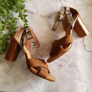 Halogen   Haley Crisscross Ankle Strap Sandals